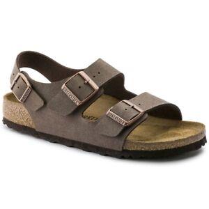 Birkenstock Milano Unisex Sandals | slipper | Birko-Flor, Nubuk - NEW