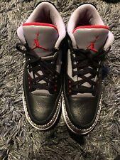 Mens Air Jordan 3 Black Cement Size 15 Sneaker