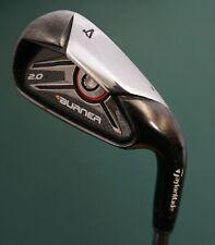 TaylorMade Burner 2.0 4 Iron Stiff Steel Shaft Golf Pride Grip