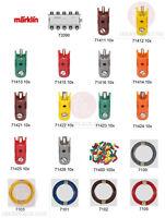 Märklin escala H0 Z ho 1 clavijas manguitos Placa de distribución cable Marklin