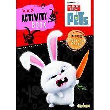 The Secret Life of Pets Activity Book Press-out MASKS Games Puzzles Chloe Gidget