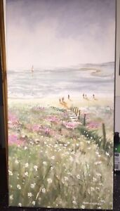 LAURA ASHLEY - NEW Anthony Waller Canvas Print/Picture, 65x33cm Excellent