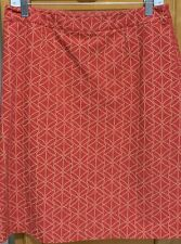 Boden Pencil Skirt Casual Career Lined Sz 12R