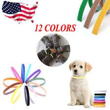 12pcs/set Whelping ID Identification Bands Litter Puppy Pet Dog Collar Band US