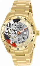 New Ladies Invicta 25443 Disney Mickey Automatic Skeleton Limited Ed. 38mm Watch