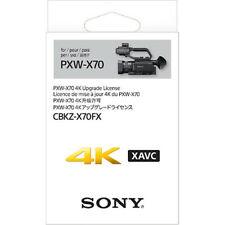 Sony 4K Upgrade License Key for Sony PXW-X70 - CBKZ-X70FX