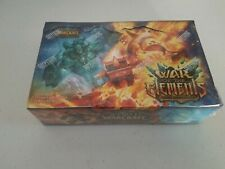 World of Warcraft War of Elements English Booster Box x1 NEW FACTORY SEALED TCG