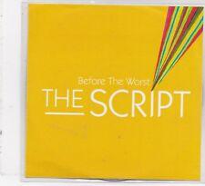 The Script-Before The Worst promo cd maxi single 3 tracks