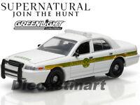 GREENLIGHT 1:64 44680E-FCVP FORD CROWN VIDTORIA POLICE SHERIFF SUPERNATURAL
