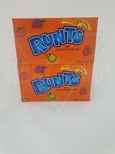 2x Formally Wonka Runts Candy Large Box 141.7g American Retro Sweets