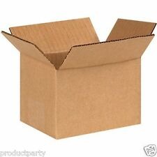 100 Small Boxes for Shipping  4x4x6  Bulk Quality Generic Cardboard Box 4 x 4 x6