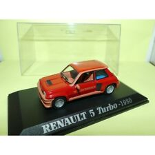 RENAULT 5 TURBO 1980 Rouge UNIVERSAL HOBBIES Collection M6 1:43