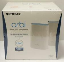 NEW - Netgear Orbi Whole Home Wi-Fi Tri-Band System RBK50-100NAS Pack of 2