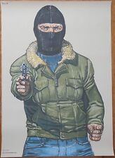 Hostage Taker Police 'Law Enforcement' Shooting Target Poster Drew Pritchard TV