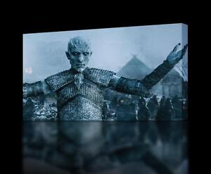 GAME OF THRONES White Walkers CANVAS PRINT Wall Art Decor Giclee *4 Sizes* CA128