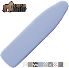 Gorilla Grip Reflective Silicone Ironing Board Cover, 15x54, Fits Large and Stan