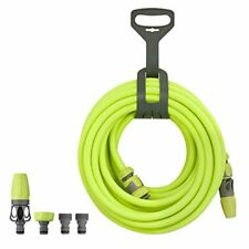 Flexzilla Garden Hose Kit with Quick Connect Attachments, 1/2 in. x 50 ft