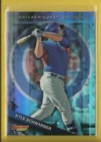 Kyle Schwarber RC Cubs 2015 Bowman's Best Top Prospect Refractor Rookie # TP-16