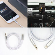 Lightning to 3.5mm Jack Male to Male Audio AUX Lead Cable for iPhone8 X iOS11