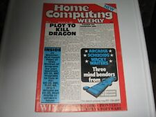 ** Home Computing Weekly - First Issue! No:1 March 8-14 1983 - Superb! **