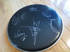 PAPA ROACH Fully Signed 12 inch black Drum head