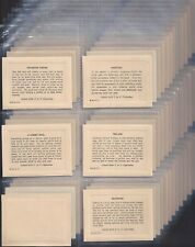 UTC (SOUTH AFRICA)-FULL SET- PHILOSOPHICAL SAYINGS (L88 CARDS) - EXC