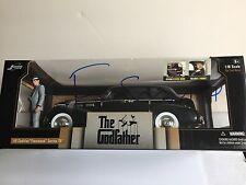 Francis Ford Coppola signed autograph Jada 1:18 Godfather Diecast Car Figure COA