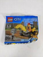 LEGO City (30312) Demolition Driller Polybag NEW Exclusive Retired FREE Shipping
