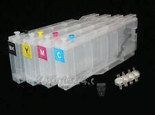 Brother 4 x Mega 80ml Tinte Tank LC-970 LC 970 LC970 nachfüll Patronen Cartridge