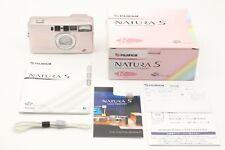 【UNUSED】Fujifilm Natura S Rose 35mm Point & Shoot Film Camera From Japan W737