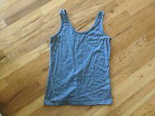 Ibex Womens Tank Top Size Xs - Blue Sleeveless Top - Merino Wool