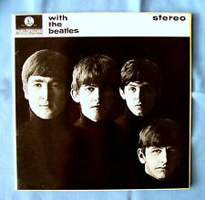WITH THE BEATLES - 1966 LP (2nd press 1972) PCS-3045 PARLOPHONE BRITISH IMPORT