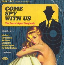 Various Artists - Come Spy with Us: Secret Agent Songbook / Various [New CD] UK