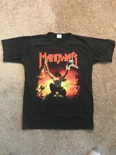 Manowar Triumph of the Steel tour shirt