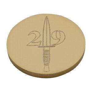 29 Commando Engraved Blazer Button