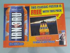 Irn Bru Promotional Poster MADE IN SCOTLAND FROM GIRDERS