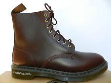 Dr Martens Pascal Brando Chaussures Homme 47 Bottes Bordeaux Montantes UK12 Neuf
