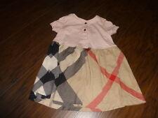 BURBERRY 18M 18 MONTHS PINK PLAID DRESS
