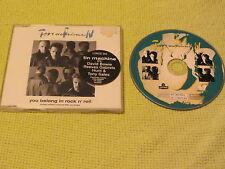 Tin Machine You Belong In Rock N Roll 1991 CD Single David Bowie (LONCD 305).