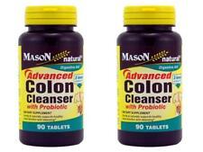 PACK 2X 90 =180 Tablets Advanced Colon Cleanser Probiotic Healthy Colon Function