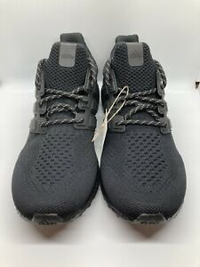 Adidas UltraBoost DNA x Pharrell Black Future Men's Size 10.5 H01893 Brand New