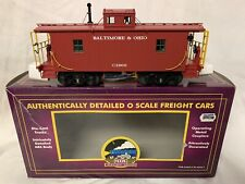 ✅MTH PREMIER BALTIMORE & OHIO N6B LIGHTED CABOOSE NEW!