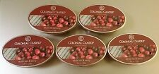 Colonial Candle ** WHITE OAK & BERRY ** Simmer Snaps/Tarts 2.4oz Oval - LOT OF 5