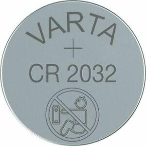 Varta Knopfzelle CR2032 DL2032 BR2032 Batterien neuester Produktion aus 2021