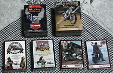 Collection of HARLEY DAVIDSON CARDS, Skybox, Strugis, Daytona, NASCAR Bikers +