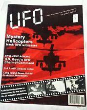 UFO MAGAZINE 1989 VOL 4 #1 an international forum on Extraterrestials UFOs