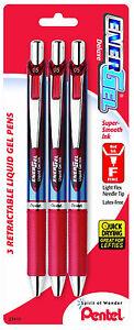Pentel Energel Pens Sets Office & School Essential! Trusted Brand Buy 2 & SAVE!