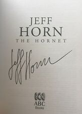 Jeff Horn SIGNED book 'The Hornet' 1/1. WORLD BOXING CHAMPION! v Manny Pacquiao