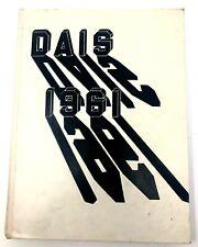 1961 Vintage  Chicago DAIS Stephen Tyng Mather High School Year Book UGC