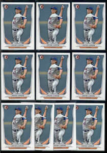 LOT OF (10) JACOB DEGROM 2014 BOWMAN PROSPECTS #BP73 PAPER ROOKIE RC BASE FC8019